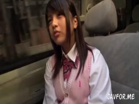 桜木郁|在学中(JK)時だったので販売出来なかったロリもの援助交際ビデオを公開!